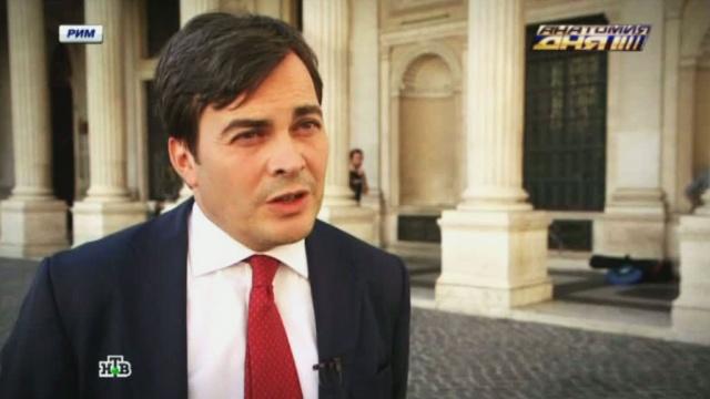 «Абсолютно дурацкое решение»: итальянские депутаты негодуют из-за войны санкций.Италия, продукты, санкции, эксклюзив.НТВ.Ru: новости, видео, программы телеканала НТВ