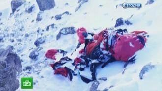 Мертвую альпинистку сзаснеженного склона Эльбруса отправят влагерь МЧС