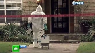 Штаты на грани чрезвычайной ситуации: заражение Эболой продолжается