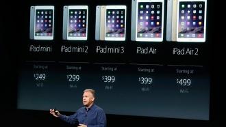 Apple назвала российские цены на iPad Air 2и iPad mini 3
