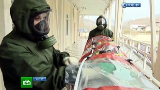 Инфекционисты со всей России потренировались в лечении Эболы в Сочи