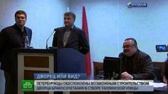 Загс закроет вид на лавру: петербуржцы против строительства дворца бракосочетаний