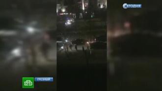 В Грозном нашли тела боевиков и самодельные бомбы