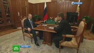 Путин доволен уровнем проведения КТО Грозном, обещает помочь семьям погибших