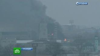 Боевиков блокировали вшколе вцентре Грозного