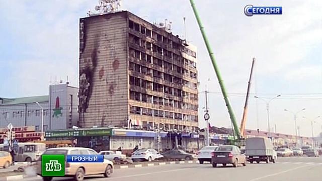 МВД: во время спецоперации вГрозном были убиты 14полицейских.Грозный, Кадыров, Чечня, взрывы, терроризм.НТВ.Ru: новости, видео, программы телеканала НТВ