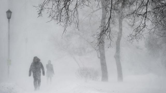 Москвичей предупреждают осильном снегопаде игололеде.Москва, гололед, погода, снег.НТВ.Ru: новости, видео, программы телеканала НТВ