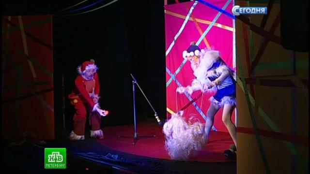Актеры театра «Куклы» начинают давать выездные спектакли в интернатах и детских домах.Санкт-Петербург, благотворительность, дети и подростки, детские дома, инвалиды, театр.НТВ.Ru: новости, видео, программы телеканала НТВ
