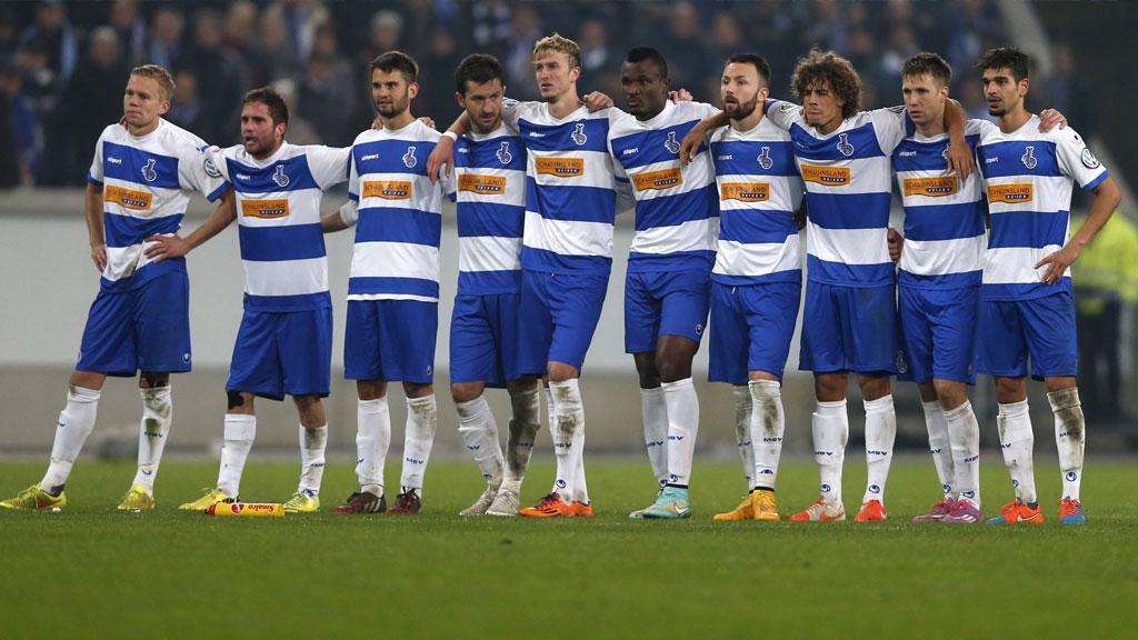 Немецкая футбольная команда г