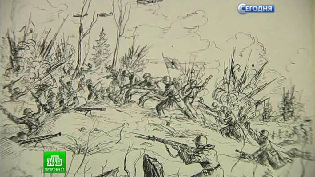 битва за ленинград раскраска работы какой-либо