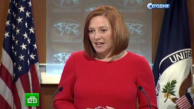 Журналистка RT загнала Псаки в угол в ходе дискуссии по Украине.дипломатия, СМИ, США, Украина, телевидение, Псаки, Госдепартамент США, журналистика.НТВ.Ru: новости, видео, программы телеканала НТВ