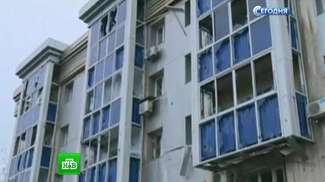 В Донецке украинские снаряды изуродовали школу и интернат для инвалидов.Донецк, Донецкая область, Украина, войны и вооруженные конфликты.НТВ.Ru: новости, видео, программы телеканала НТВ