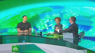 Ведущий НТВ бросил вызов триумфатору <nobr>Игр-2014</nobr> бобслеисту Воеводе