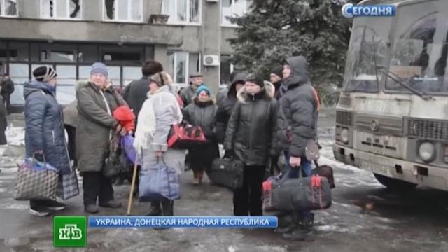 Украинские войска тайно доставляли снаряды по гуманитарному коридору.ДНР, Донецк, Украина, войны и вооруженные конфликты, эвакуация.НТВ.Ru: новости, видео, программы телеканала НТВ