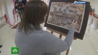 Минская художница изобрела технику рисования шоколадом