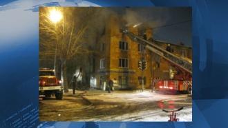 При пожаре векатеринбургском общежитии погибли двое