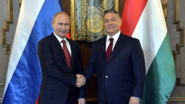 Путин проводит переговоры с «европейским Уго Чавесом» за закрытыми дверями.Венгрия, Путин, газ, переговоры.НТВ.Ru: новости, видео, программы телеканала НТВ