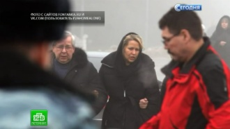 Миллионерша Васильева попрощалась с бабушкой на берегах Невы