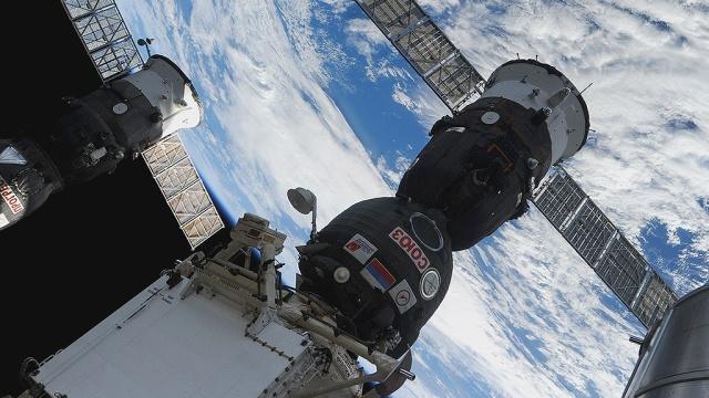 «Союз ТМА-16М» смеждународным экипажем на борту благополучно пристыковался кМКС.Байконур, МКС, НАСА, Роскосмос, космонавтика, космос.НТВ.Ru: новости, видео, программы телеканала НТВ