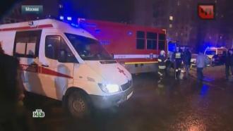 При пожаре вмосковском общежитии пострадали 10иностранцев