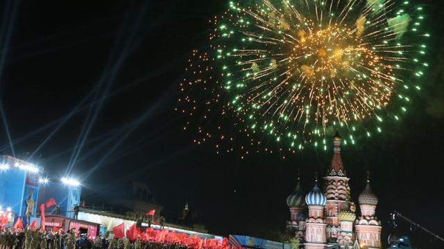 Празднование Дня Победы вМоскве завершилось грандиозным салютом.Великая Отечественная война, Москва, ветераны, история, памятные даты, торжества и праздники.НТВ.Ru: новости, видео, программы телеканала НТВ