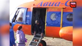 Жителей Томской области <nobr>из-за</nobr> паводка будут возить на вертолете