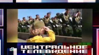 Двухлетний «генерал» спарада Победы вМоскве стал звездой Интернета