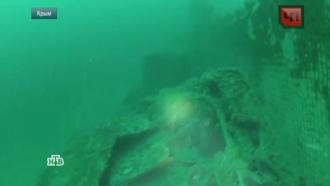 В Феодосии выставили артефакты с подлодки, затонувшей в годы войны