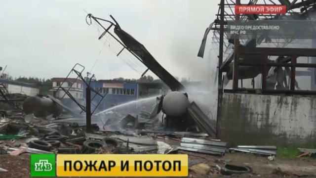 Мощность взрыва на западе Москвы сравнили савиационной фугасной бомбой.Москва, взрывы, пожары.НТВ.Ru: новости, видео, программы телеканала НТВ