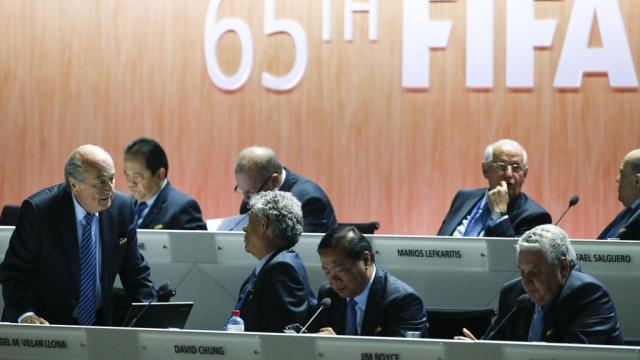 «Антиблаттеровская» коалиция оказывает беспрецедентное давление на делегатов ФИФА.выборы, скандалы, спорт, ФИФА, футбол, Швейцария.НТВ.Ru: новости, видео, программы телеканала НТВ