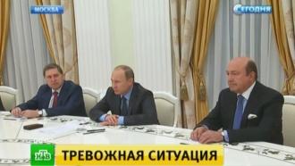 Путин в беседе с Карзаем выразил обеспокоенность действиями ИГИЛ в Афганистане