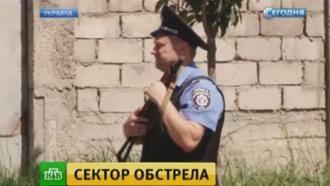 «Правый сектор» заявил опоявлении вМукачеве бронетехники слюдьми вкамуфляже