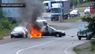 Опубликована оперативная видеозапись перестрелки вМукачеве