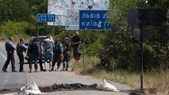 ВЗакарпатье силовики окружили участников мукачевской бойни иведут переговоры
