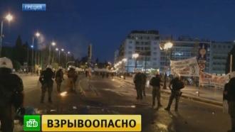 Судьбоносные дебаты греческие депутаты ведут под крики протестующих