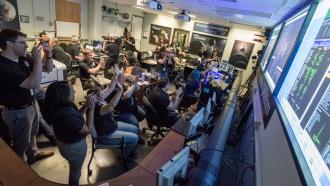 New Horizons «позвонил домой» сПлутона