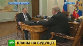 Миронов рассказал Путину о выступающих за отмену санкций евродепутатах