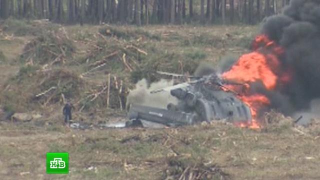 Выживший пилот Ми-28 выбрался из горящего вертолета самостоятельно.авиационные катастрофы и происшествия, вертолеты, Рязанская область.НТВ.Ru: новости, видео, программы телеканала НТВ