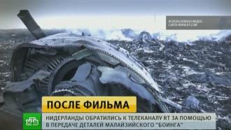 Нидерланды попросили RT помочь в расследовании катастрофы «Боинга» под Донецком