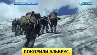 Солдаты со всей России покоряли вершины иштурмовали ледники вКБР