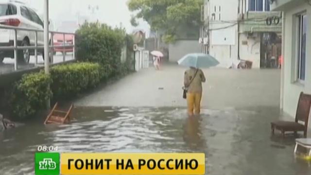 Тайфун «Гони» обрушится на Владивосток июжные районы края.Приморье, погодные аномалии, стихийные бедствия, штормы и ураганы.НТВ.Ru: новости, видео, программы телеканала НТВ