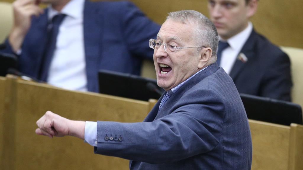 Прокуратура оценит скандальное выступление Жириновского в Думе // НТВ.Ru