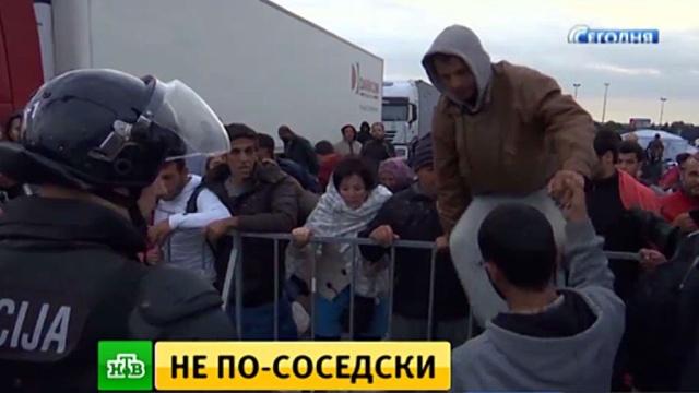 Венгрия отправила присланных Хорватией беженцев в Австрию.Австрия, Ближний Восток, Венгрия, Европейский союз, беженцы, войны и вооруженные конфликты.НТВ.Ru: новости, видео, программы телеканала НТВ