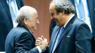 Блаттер иПлатини намерены обжаловать свое «нелепое» отстранение от футбола