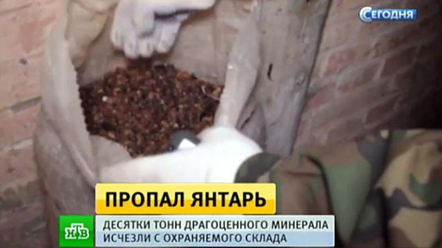 У калининградских полицейских украли изъятый янтарь на миллиарды рублей.Калининград, кражи и ограбления, криминал, полиция, янтарь.НТВ.Ru: новости, видео, программы телеканала НТВ
