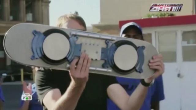 Для Марти Макфлая пытались создать летающую доску.НТВ.Ru: новости, видео, программы телеканала НТВ