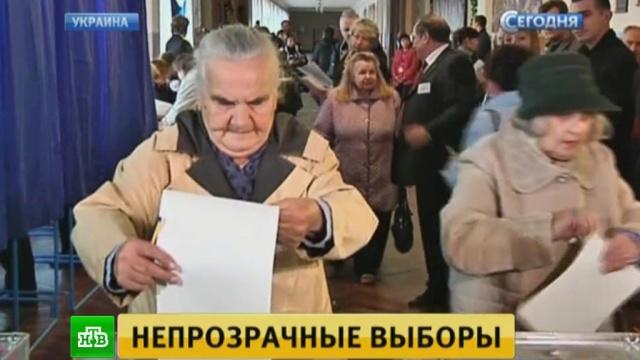 Выборы на Украине побили рекорд по количеству нарушений.Украина, выборы.НТВ.Ru: новости, видео, программы телеканала НТВ