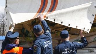 Колонны МЧС России привезли вДонбасс гуманитарную помощь