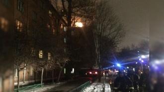 Пожар вобщежитии МАИ потушили