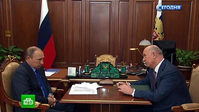 Глава Самарской области пообещал Путину пересадить чиновников на новые Lada.АвтоВАЗ, Путин, Самарская область, автомобили, автомобильная промышленность.НТВ.Ru: новости, видео, программы телеканала НТВ
